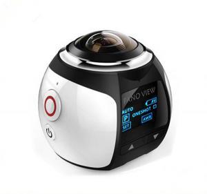 Quality 360 Panoramic Camera 30M Waterproof Sport Video 4K WIFI  Mini Camera Sport Driving VR Camera for sale