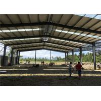 Quality Lightweight Fabrication Steel Structure Warehouse For Philippines Long Service Life for sale