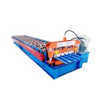 Quality Hydraulic Roof Panel Roll Forming Machine , Ibr Color Steel Cold Roll Forming Equipment for sale