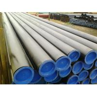 Quality PSL1 / PSL2 Hot Finish Seamless Line API Steel Pipe With Painting End Caps for sale