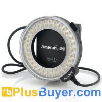 Quality Apurture Amaran AHL-C60 - Macro LED Ring Light For Canon (60 LEDs, 6W, 8 Mounts) for sale