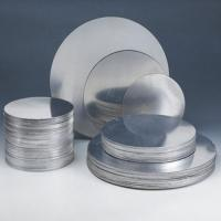 Quality Hot Rolled Aluminium Discs Circles Mill Finish Surface For Cooker / Pan for sale