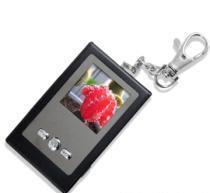 Quality mini digital photo frame with keychain , keyring digital photo frame for sale