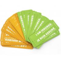 Quality Recyclable Personalised Paper Luggage Tags , Retail Hang Tags For Clothing Line for sale