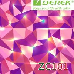 ZC101 Bubble Free Digital Printing Doodle Film / Graffiti Sticker Bomb for Car Wrapping