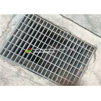 Parking Lots Steel Grate Drain Cover High Strength Hot Dip Galvanizing  Images