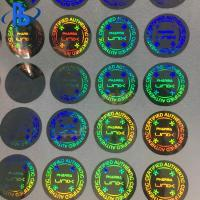China 3D Hologram Labels Stickers Heat Resistant With Strong Sealing Performance on sale