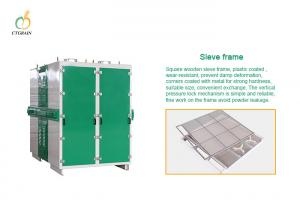 Quality Flour Plansifter 5.5kw 55.4m2 Grain Milling Equipment for sale