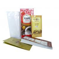 Quality Eco-Friendly Coffee Valve Bags Aluminium Foil With Gravure Printing for sale