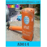 Quality 0.55 mm pvc tarpaulin inflatable can for sale