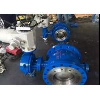 Quality Peumatic Actuator Stainless Steel Butterfly Valve with Metal Seat Sealing for sale