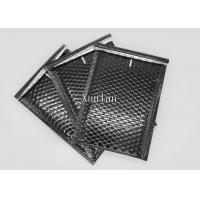 Shiny And Matte Black Padded Envelopes , DVD Poly Mailers Shipping Envelopes