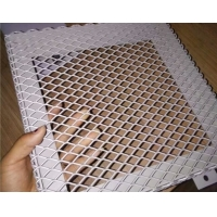 China 100mm Flattend Hexagonal Expanded Metal Wire Mesh For Building on sale