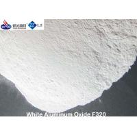 Quality Strong Cutting Force White Aluminum Oxide Media Polishing Powder 3.95 G / Cm3 True Gravity for sale