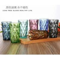 Quality Clear Lead Free Long Glass Cup / Household Dinner Drinking Glass Water Cup for sale