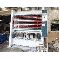 Quality 90T 10 Layers Hydraulic Hot Press Machine For Plywood Steel Plate Main Frame for sale