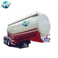Quality 3 axles 50m3 bulk cement tank semi trailer powder semi trailer for sale