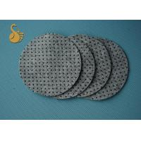 Quality Anti - Slip Non Woven Felt Fabric , Polyester Felt PVC Dot Coated Acupuncture for sale