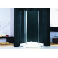 Quality Hotel Hinged Shower Enclosures 1000 X 1000 With Pivot Glass Shower Doors for sale