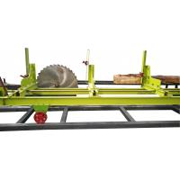 China 1200mm Wood Cutting Circular Blade Sawmill Machine with Log Carriage on sale