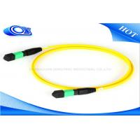 Quality Outdoor 12 / 24 Core 5M Length MTP MPO Connector For Optical Fiber Patch Cord for sale