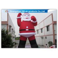 outdoor large blow up inflatable santa claus for christmas decorations