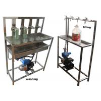 China Manual Bottle Washing And Filling Machine For 330ml 500ml 750ml 1l 2l 5l 5 Gallon on sale