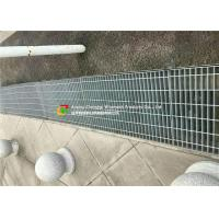 China Galvanized Pedestrian Grating Trench Grate , Drain  Cover for Drainage System on sale