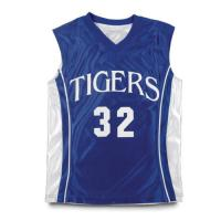 China Full Sublimation Custom-printed Polyester Basketball Jersey on sale