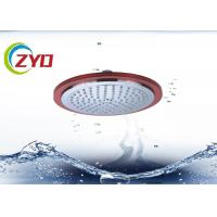 China Overhead Hand Shower Head For Bathroom Diameter 220mm Multi Color Optional on sale