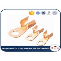Quality Tin Plated Copper Cable Lugs OT Series / Electrical Terminal Lugs for sale
