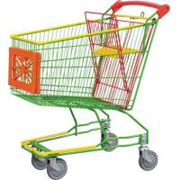 Quality Handheld Metal Wire Woven Supermarket Shopping Carts Basket for sale