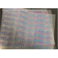 Quality Wholesale Cold Peel Glossy Heat Transfer Adhesive PET Film For Heat Transfer Printing Labels and Stickers By Heat Press for sale