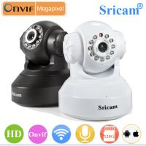 Quality Sricam SP005 P2P Pan Tilt Wireless wifi p2p IP Camera wide angle for sale