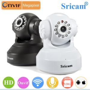 Quality Sricam SP005 wifi 2p2 wireless 1mp ip camera for sale