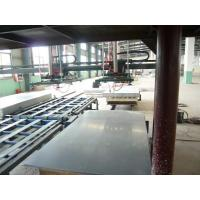 Quality PLC Control Roof Tile Making Machine , Colour Glazed Profile Roofing Sheets Manufacturing Machine for sale