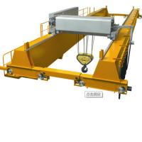 China 250 Ton Double Girder Overhead Crane / Rail Double Beam Crane Emergency Stop on sale