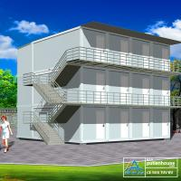 Quality Economic 20 FT Container Home , simple container homes for storage for sale