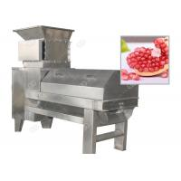 Quality 3t / h Pomegranate Peeling Machine , Pomegranate Aril Separator Machine for sale