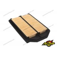 China Honda Car Engine Filter , Auto Air Filter OEM 17220-RZA-Y00 Yellow Color on sale