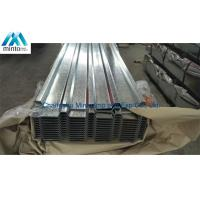 Quality Anti Corrosion Galvanised Corrugated Steel Roofing Sheets SGCC SGCH Shockproof for sale