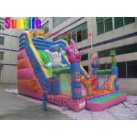 Quality Exciting Waterproof Commercial Inflatable Slide for inflatable playground for sale