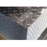 Quality 5052 5083 5754 Aluminum Checker Sheet / Aluminum Tread Plate For Trailer Decking Plate for sale
