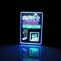Quality Remote controlled led restaurant menu board for sale
