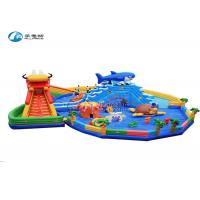 Quality Dragon Shark Commercial Grade Inflatable Water Slide Industrial Water Slide for sale