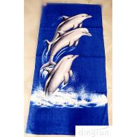China OEM Personalized Printed Beach Towel , 70*140cm Eco-Friendly Dryfast on sale