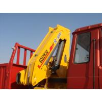 Quality Durable Knuckle Boom Truck Mounted Crane 5T Lifting For Landscape Jobs for sale