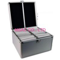 Lightweight Aluminum CD DVD Storage Carrying Case / 200 CD Cases  Silver  sc 1 st  Aluminum Carrying Cases Aluminum Cosmetic Cases and Aluminum Makeup ... & Aluminum CD DVD Storage Case on sale Aluminum CD DVD Storage Case ...