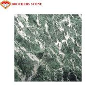 Quality Professional Verde Issogne Marble Slab Stone , Interior Marble Floor Tile for sale