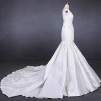 Buy Straps satin mermaid wedding dresses bridal gowns customize made 2019 at wholesale prices
